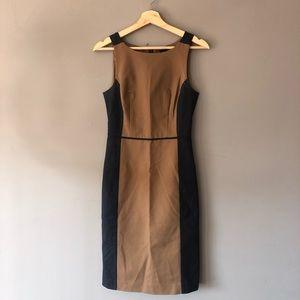 Club Monaco brown black career sheath dress 2